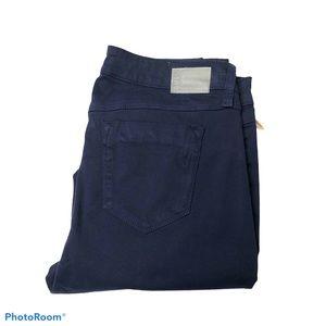 NWT SOLD Design Lab Navy Stretch Skinny Jeans